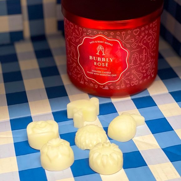 Bath and Body Works Bubble Rose Candle Wax Melts